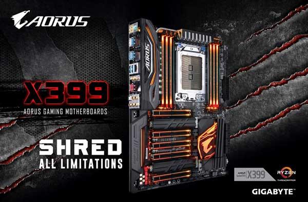 Gigabyte presenta la placa base X399 AORUS Gaming 7