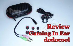 auriculares Gaming In Ear dodocool DA131