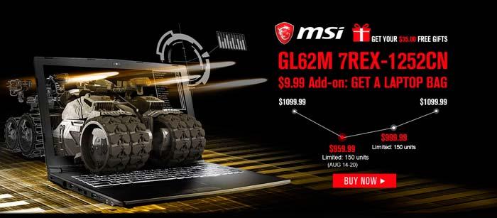 MSI GL62M 7REX 1252CN