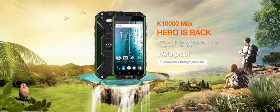 Test en el OUKITEL K10000 MAX