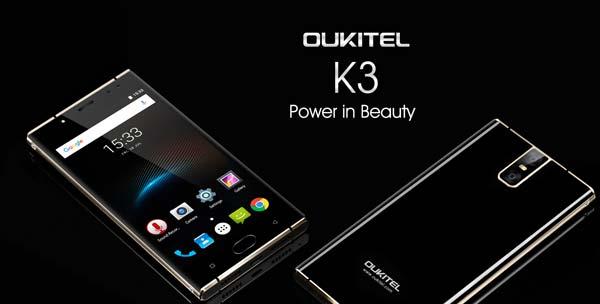 especificaciones del oukitel k3