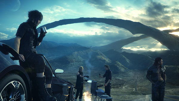 El modo multijugador de Final Fantasy XV