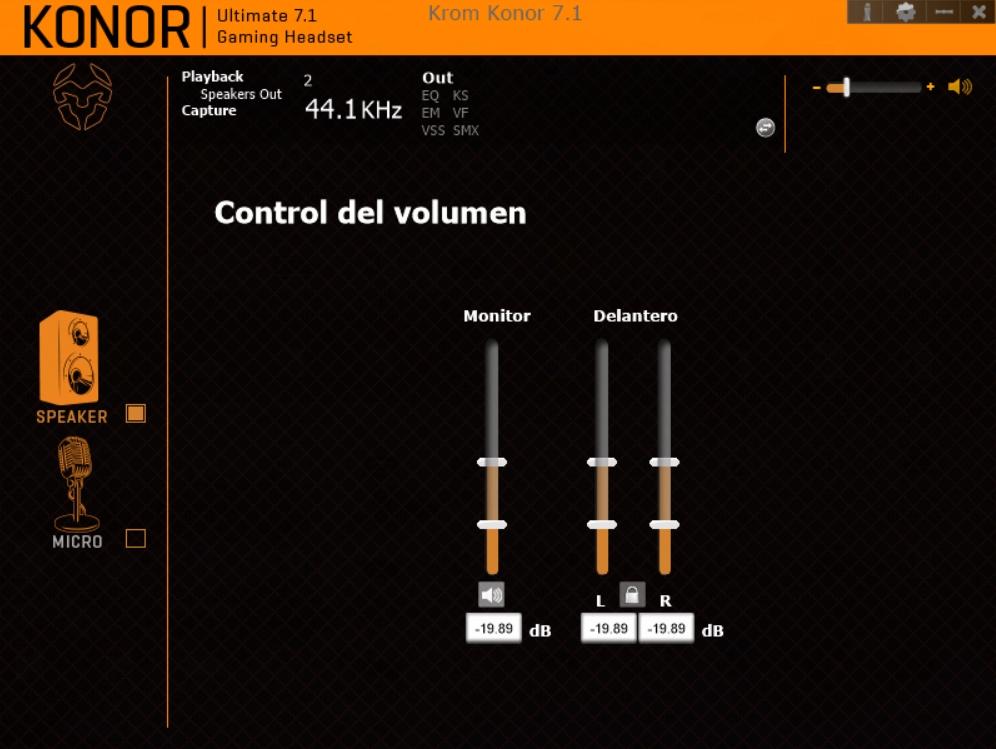 Krom Konor software 1