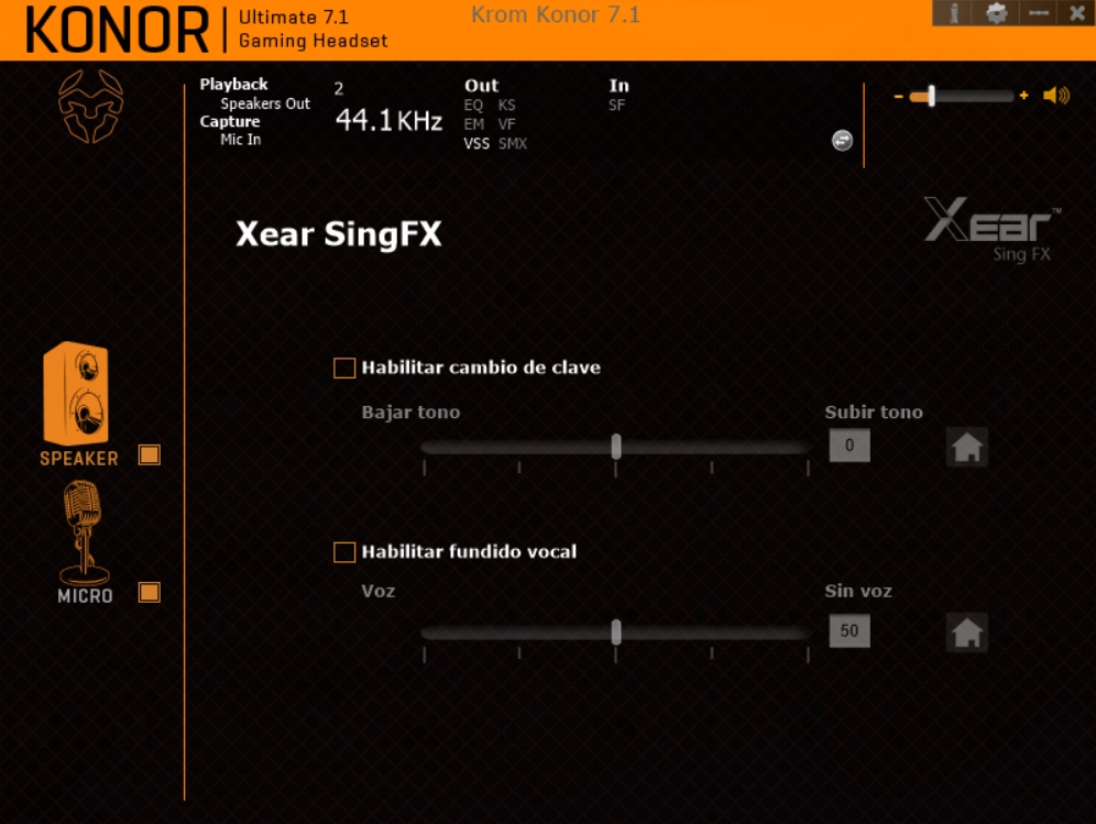 Krom Konor software 12