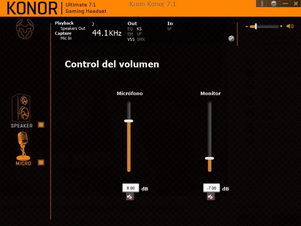 Krom Konor software 14
