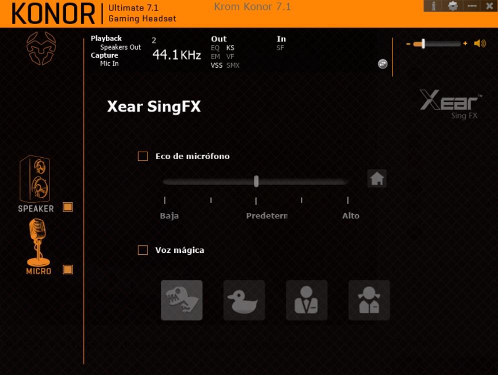 Krom Konor software 16