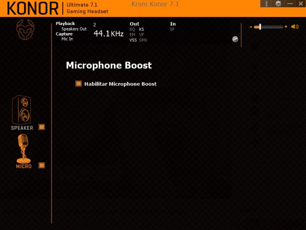 Krom Konor software 17