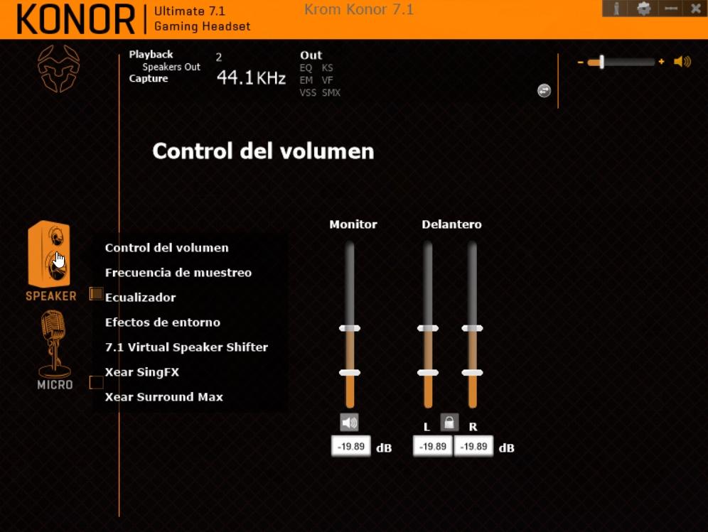 Krom Konor software 2