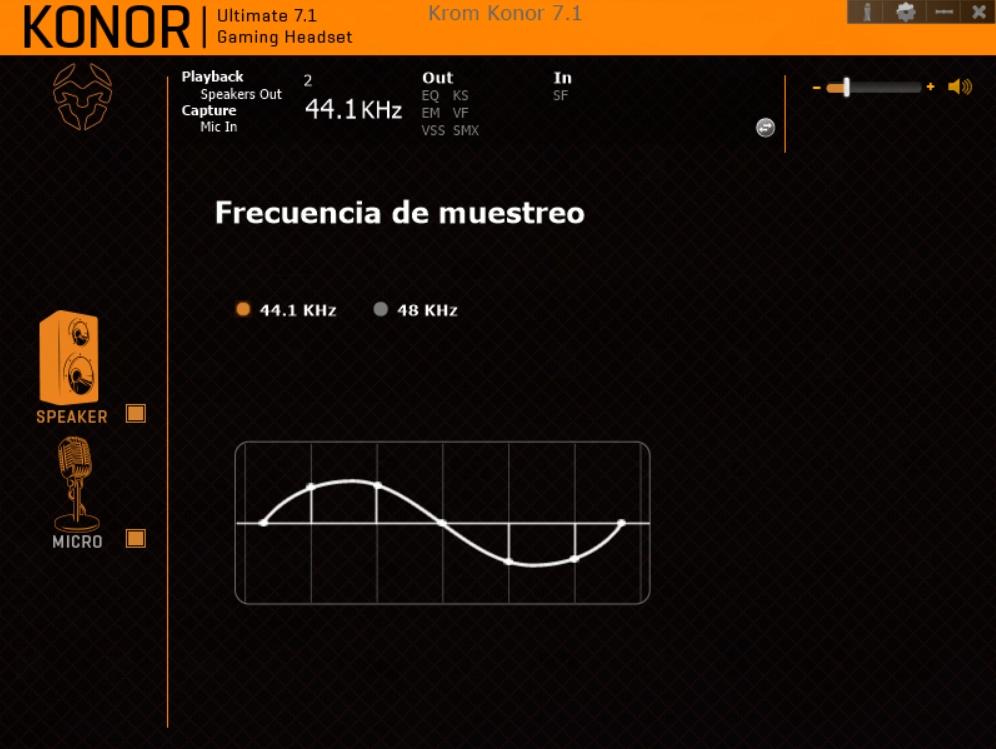 Krom Konor software 3
