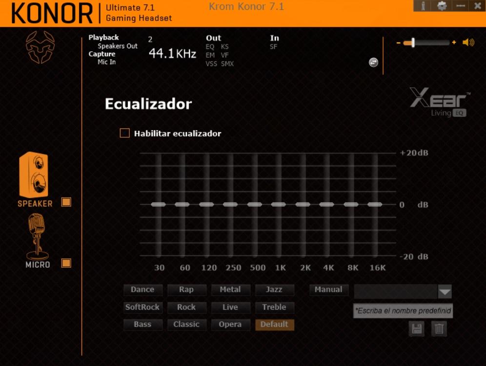 Krom Konor software 4