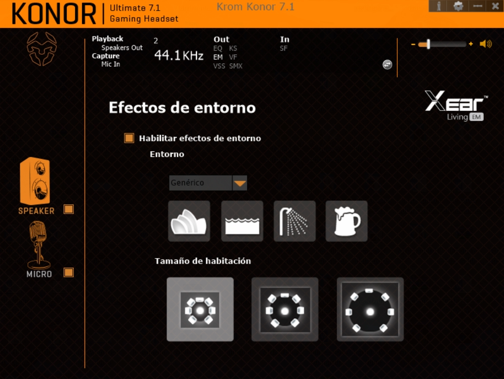 Krom Konor software 6