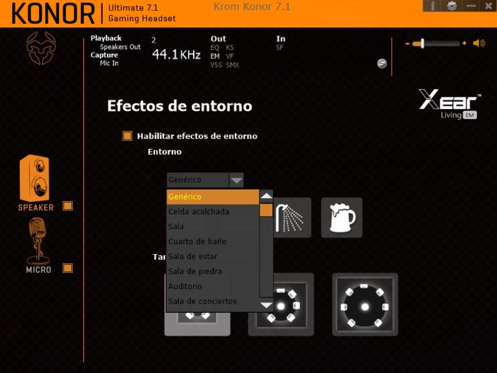 Krom Konor software 7