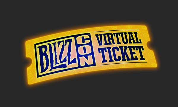 Blizzard anuncia la nueva entrada virtual de la BlizzCon
