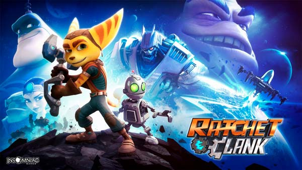 ratchet and clank portada