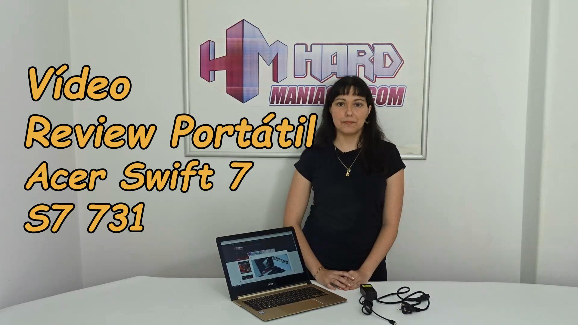 Vídeo review Portátil Acer Swift 7 S7 731