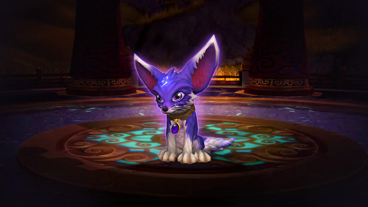 El zorro Sombra, la nueva mascota de World of Warcraft