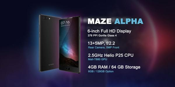 MAZE Alpha rebajado a 151 euros por tiempo limitado