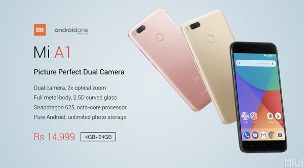 Comienza la preventa del Xiaomi Mi A1