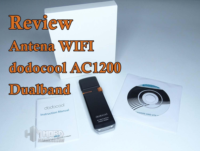 adaptador wifi dodocool AC 1200 Dual Band