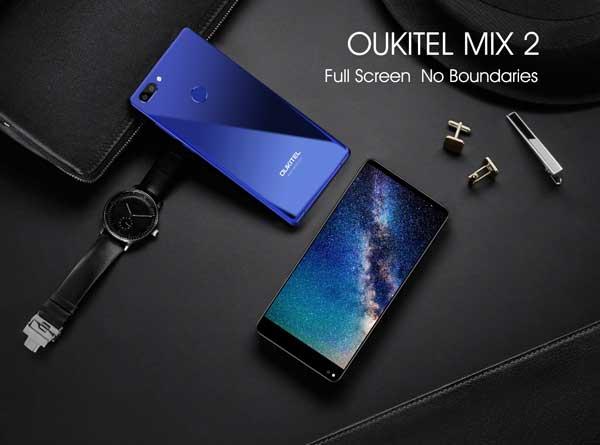 Confirmadas las especificaciones completas del OUKITEL Mix 2