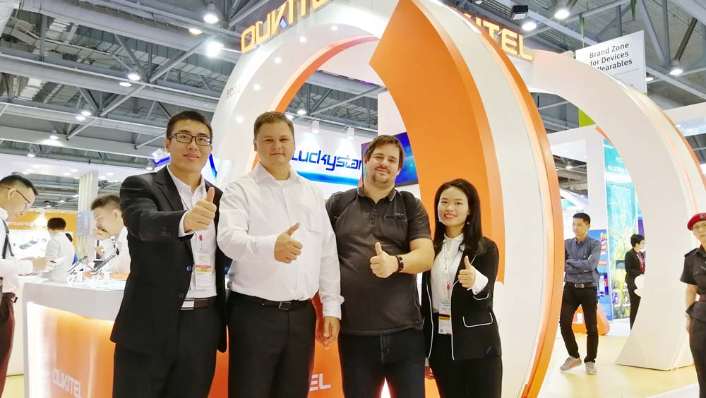 OUKITEL Global Electronics Exhibition