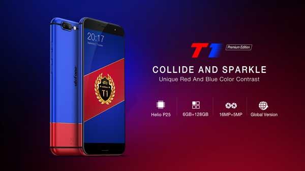 Se anuncia el nuevo Ulefone T1 Premium Edition
