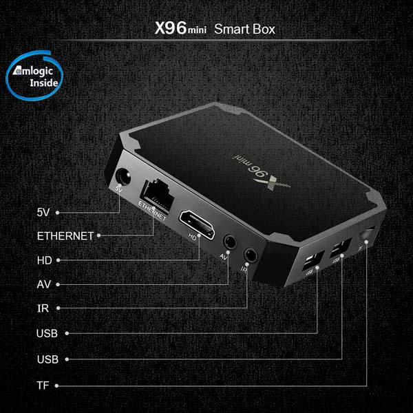 Consigue el TV Box X96mini con un descuento en Tomtop