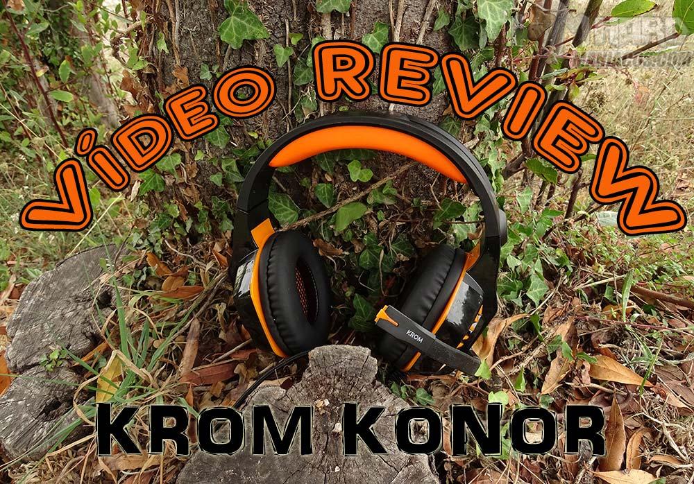 vídeo review Auriculares Krom Konor