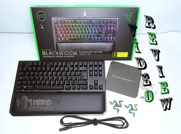 Vídeo review del teclado Razer Blackwidow Tournament Edition V2
