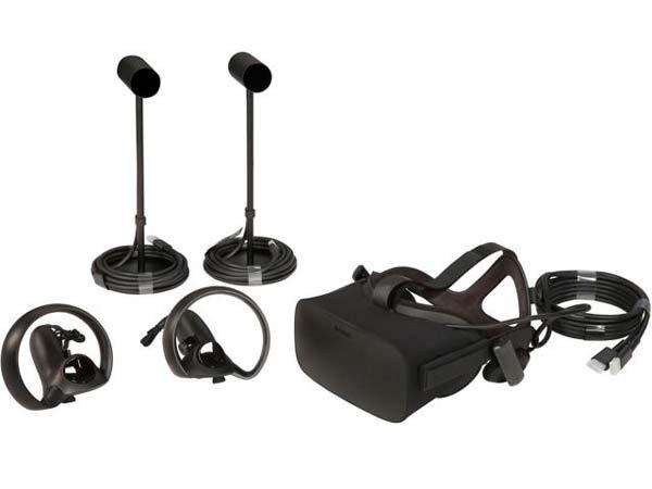 Oculus Rift set completo