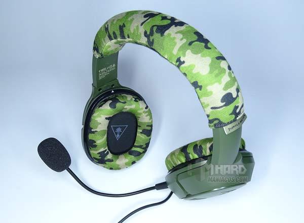 Recon Camo auriculares con micro