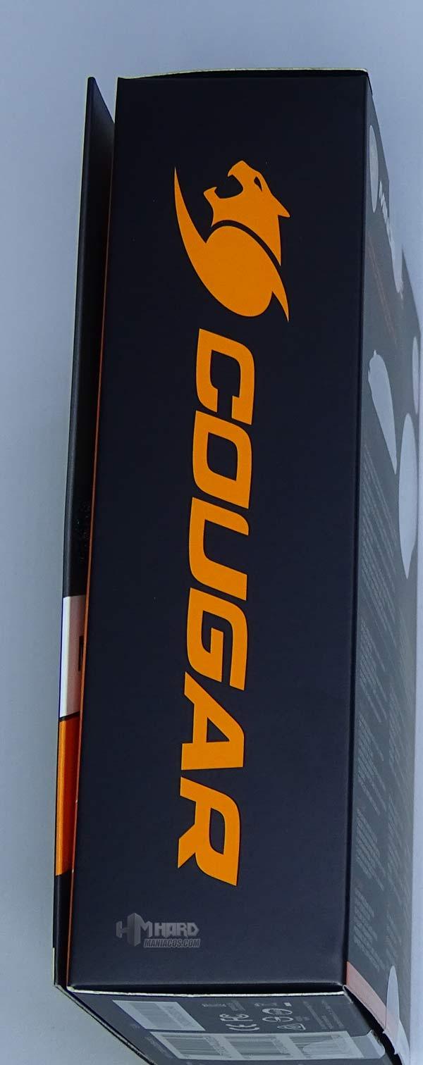 lateral caja logo Cougar