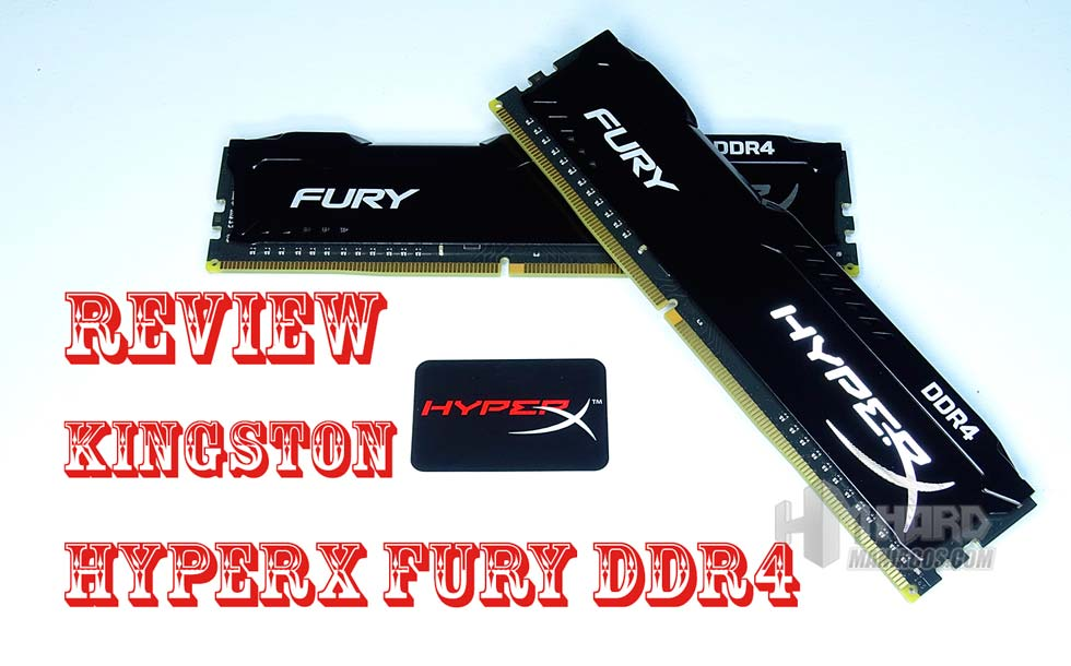 memoria ram hyperx fury ddr4