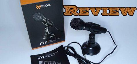 micrófono krom kyp