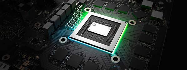 Xbox One X procesador