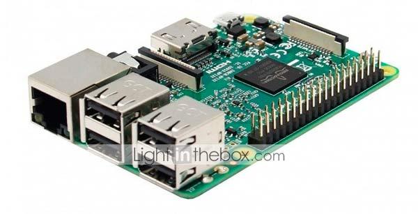 PLaca base Raspberry Pi