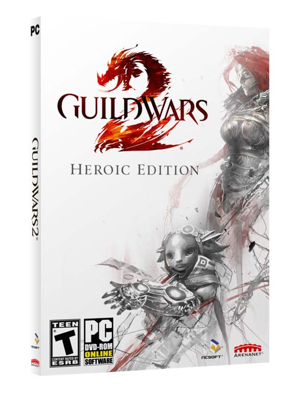 guild wars 2 pack navideño humble bundle