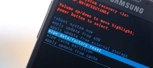 Hard Reset quitar el patrón de bloqueo en Android