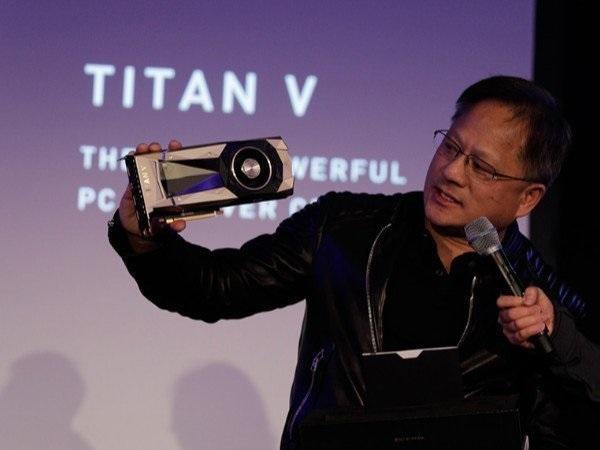 tarjeta gráfica NVIDIA Titan V