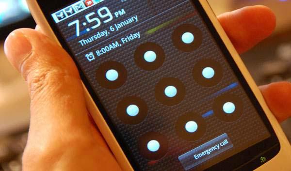 quitar el patrón de bloqueo en android