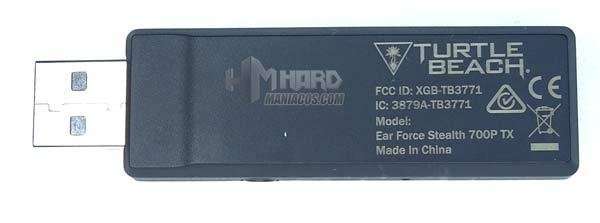 transmisor USB Turtle Beach Stealth 700