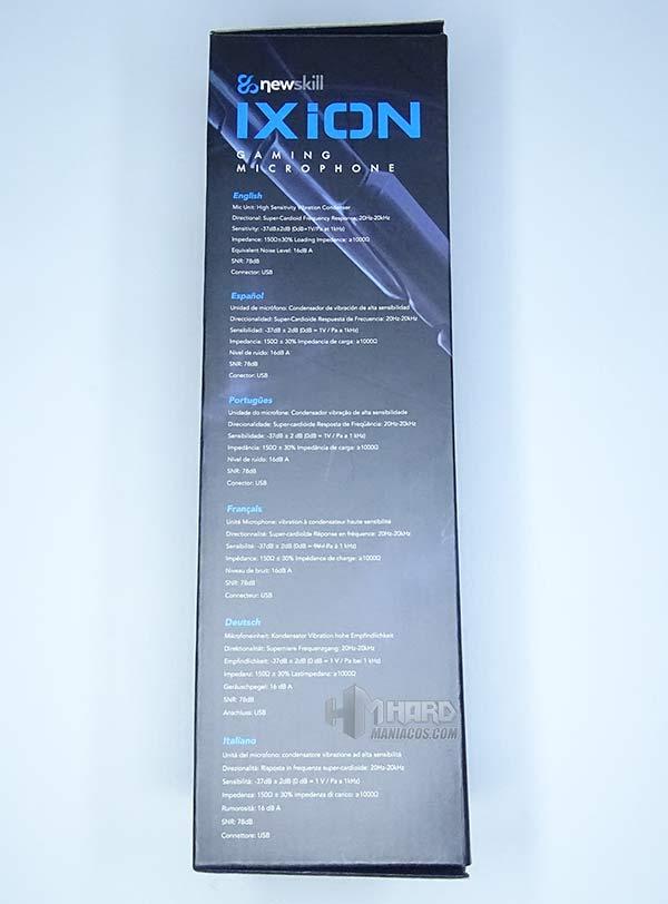 NewSkill Ixion lateral caja