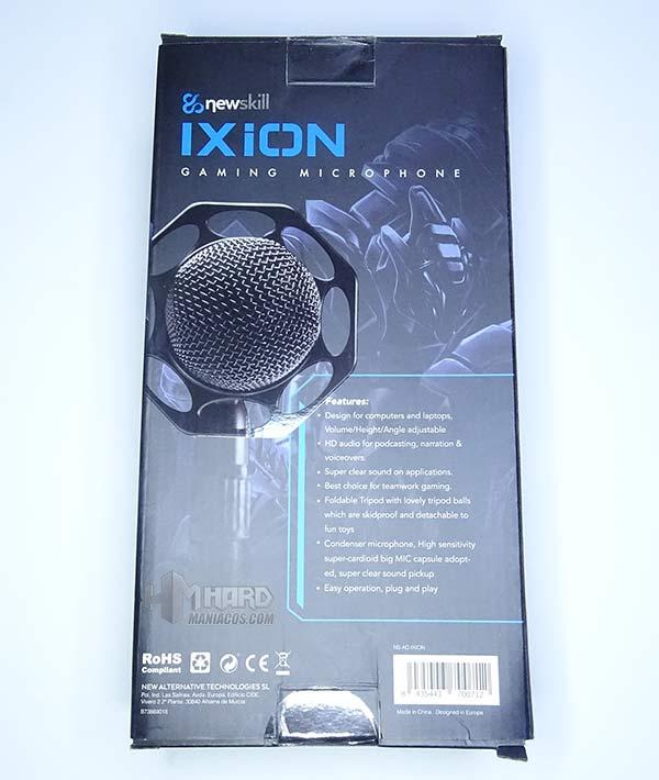 NewSkill Ixion caja por detras