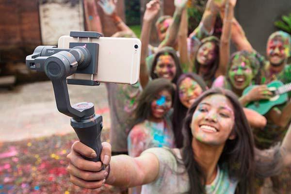Selfie Osmo Mobile 2