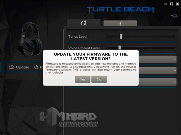 sofware firmware Stealth 700