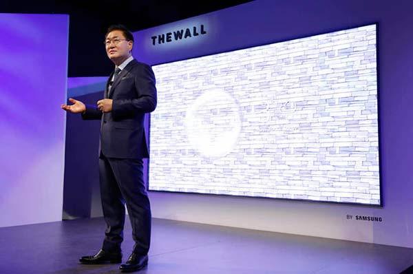 presentación Samsung The Wall