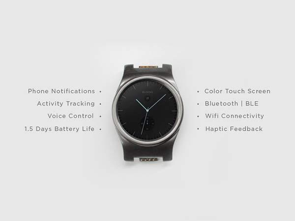 funciones Core smartwatch modular