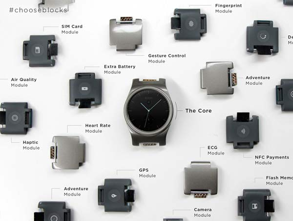 módulos smartwatch modular