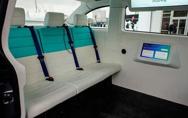 Autonom Cab interior