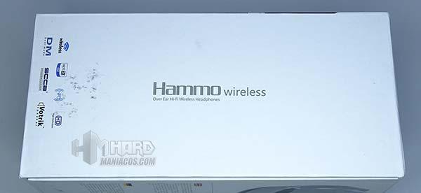 lateral caja Hammo Wireless